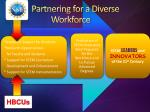 partnering for a diverse workforce