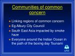 communities of common concern