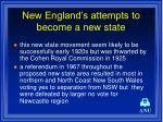 new england s attempts to become a new state