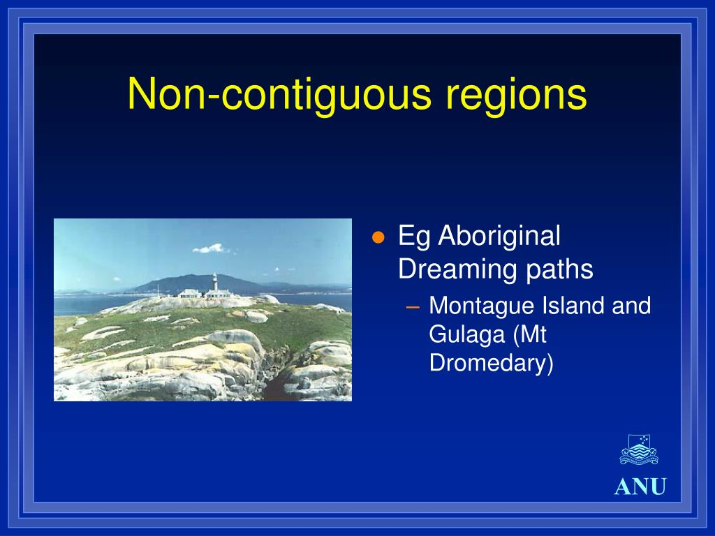 Non-contiguous regions