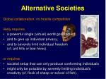 alternative societies