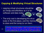 copying modifying virtual structures