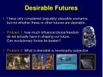 desirable futures