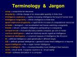 terminology jargon