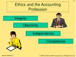 ethics and the accounting profession