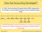 how has accounting developed6