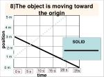 8 the object is moving toward the origin1