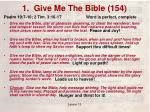 1 give me the bible 1541