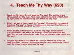 4 teach me thy way 620