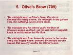 5 olive s brow 709