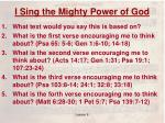 i sing the mighty power of god1