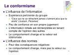 le conformisme2