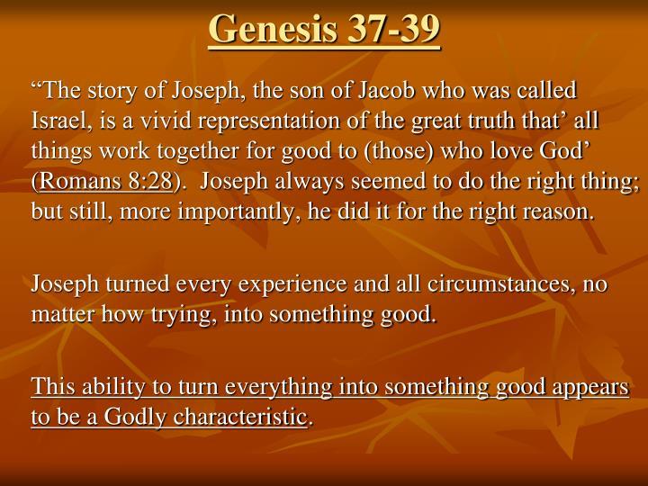 genesis 37 39 n.