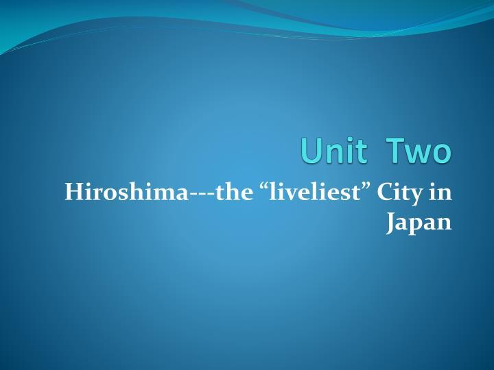unit two n.