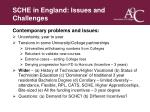 sche in england issues and challenges8