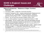 sche in england issues and challenges9