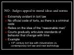 no judges appeal to moral ideas and norms