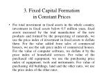 3 fixed capital formation in constant prices1