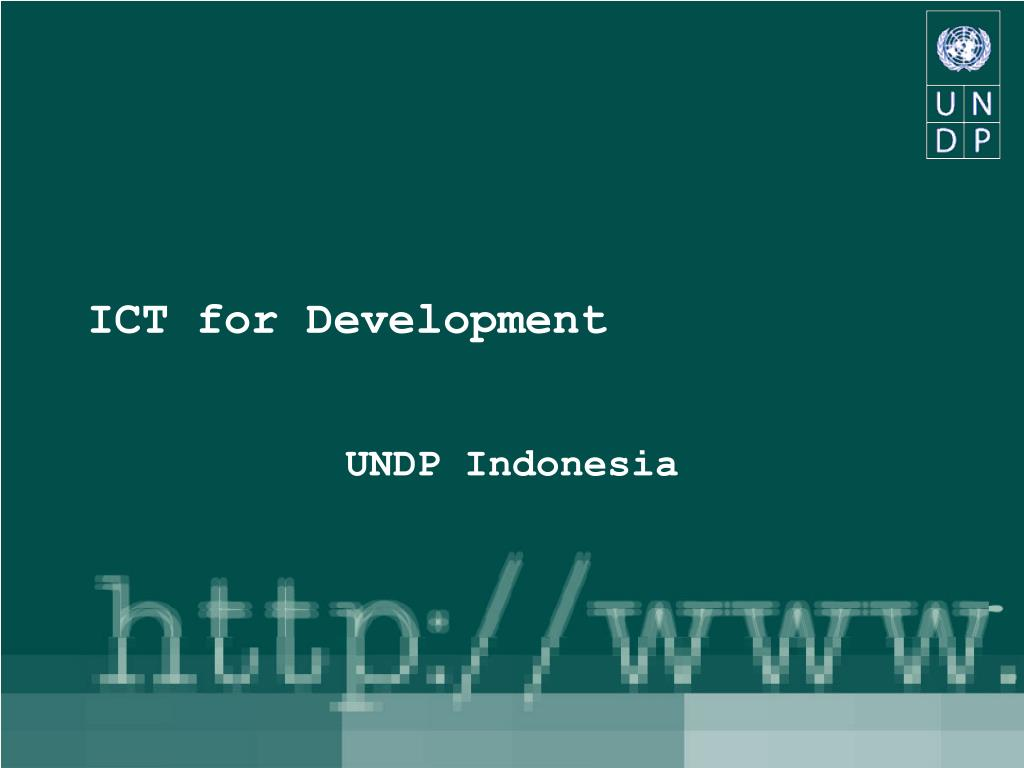ict for development l.