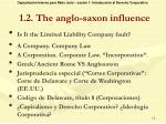 1 2 the anglo saxon influence
