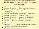 3 6 derecho corporatico y otras ramas del derecho
