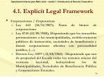 4 1 explicit legal framework1