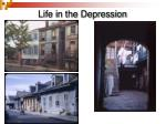 life in the depression1