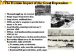 the human impact of the great depression1
