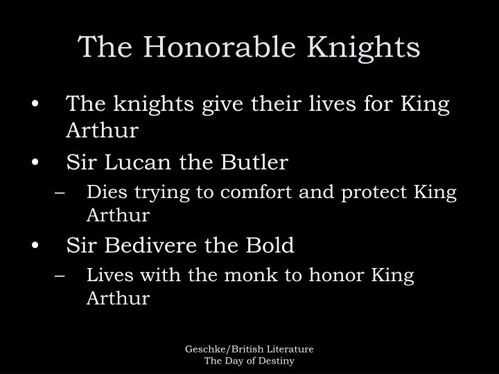 The Honorable Knights