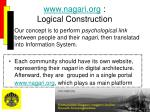 www nagari org logical construction