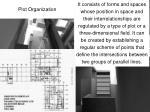 plot organization
