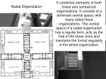 radial organization