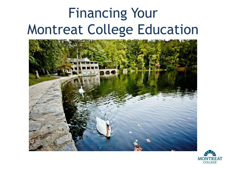 financing your montreat college education n.