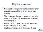 keystone award