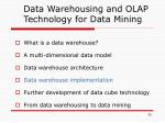 data warehousing and olap technology for data mining3