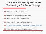 data warehousing and olap technology for data mining4