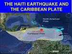 the haiti earthquake and the caribbean plate