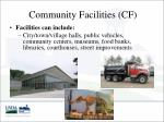 community facilities cf1