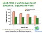 death rates of working age men in sweden vs england and wales