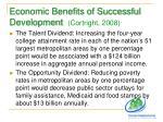 economic benefits of successful development cortright 2008