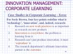 innovation management corporate learning1