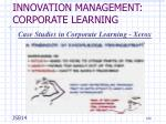 innovation management corporate learning13