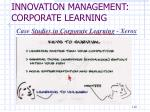 innovation management corporate learning15