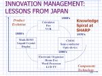innovation management lessons from japan14