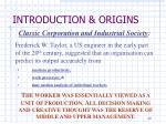 introduction origins7