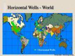 horizontal wells world