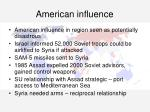 american influence