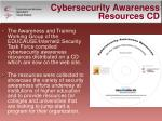 cybersecurity awareness resources cd