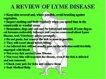 a review of lyme disease
