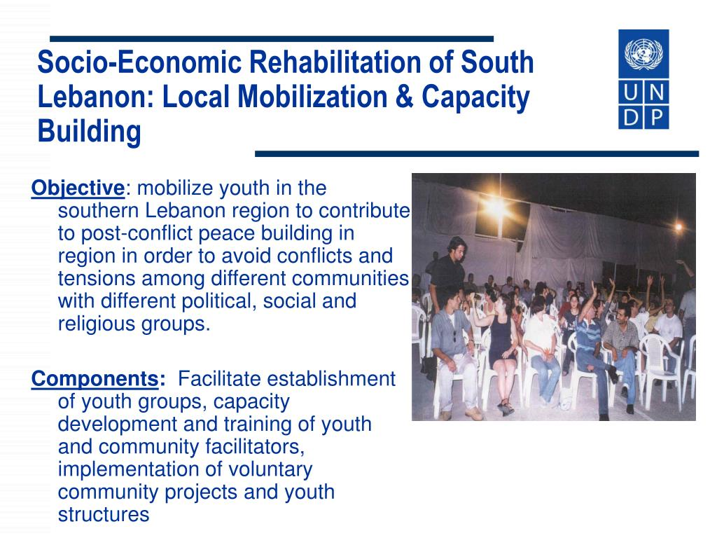 Socio-Economic Rehabilitation of South Lebanon: Local Mobilization &